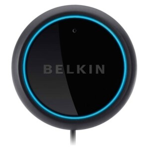 Belkin AirCast F4U037tt Wireless Bluetooth Car Hands-free Kit - USB