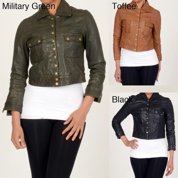Member's Only Women's Leather Jacket