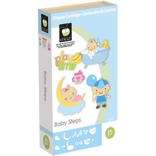 Cricut Baby Steps Shape Cartridge