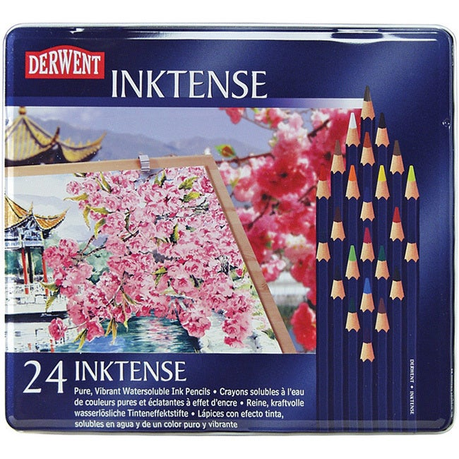 Derwent Inktense Pencil (Set of 24) (Derwent Inktense Pen...