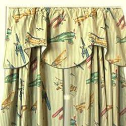 Airshow 84-inch Curtain Panel Pair - Thumbnail 1