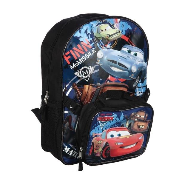 c9bb8b0100 Shop Disney Pixar's Cars 2 'Finn McMissle' 16-inch Backpack with ...