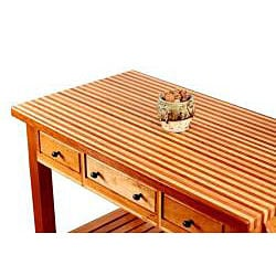 Heyman Island Cherry Kitchen Island - Thumbnail 1