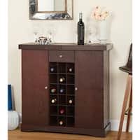 Simple Living Wine Storage Cabinet