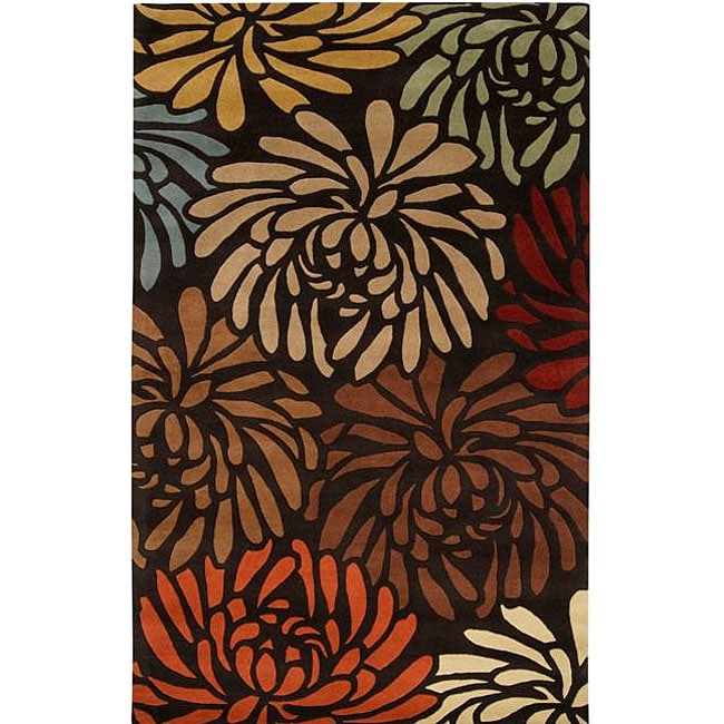 Shop Hand Tufted Bessie Wool Rug 8 X 10 Free