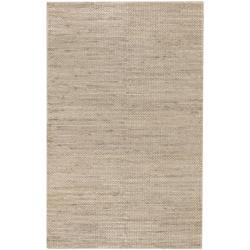 Hand-woven Kenora Natural Fiber Jute Braided Texture Area Rug (5' x 8') - Thumbnail 0