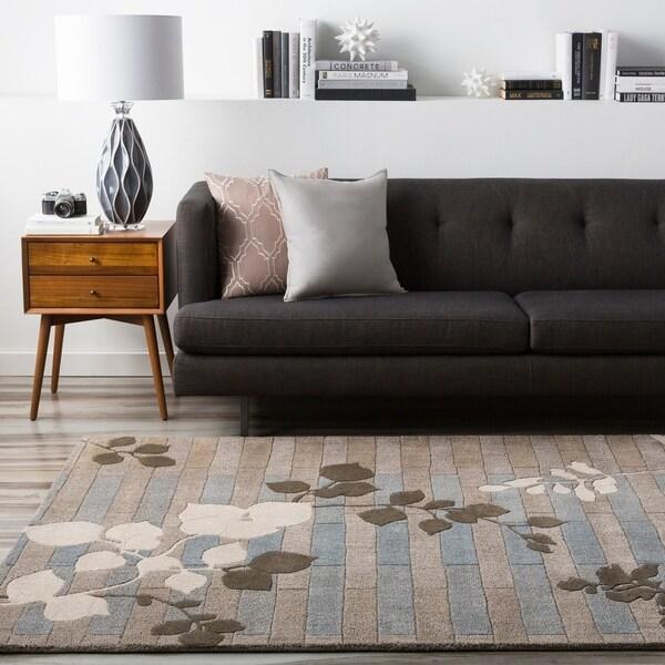 """Hand-tufted Newport New Zealand Wool Area Rug - 3'3"""" x 5'3"""""""