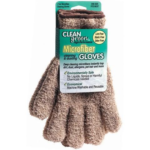Master Manufacturing Beige Microfiber Dusting Gloves
