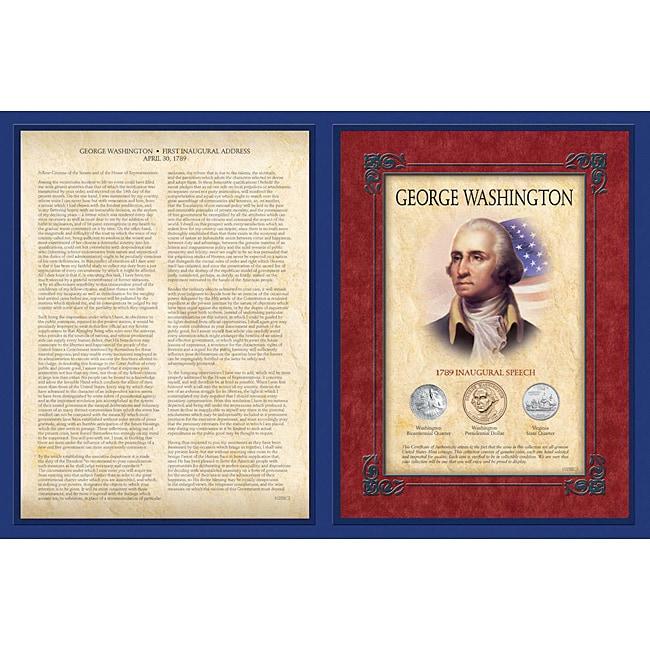 American Coin Treasures George Washington First Inaugural...
