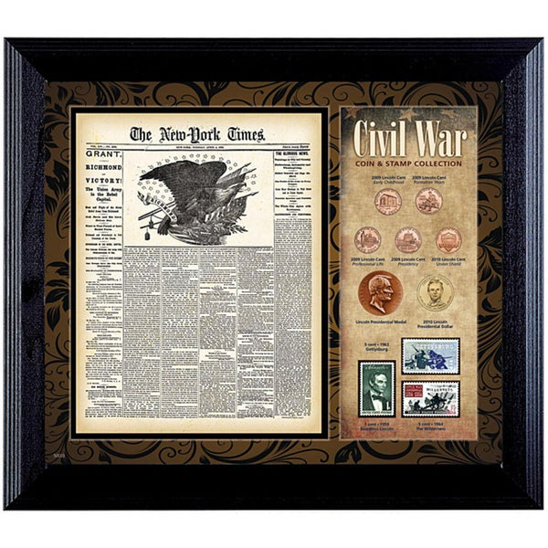 American Coin Treasures New York Times Civil War Coin and Stamp Collection