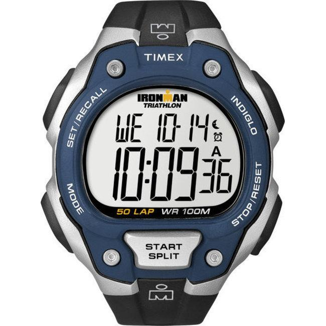 Timex T5K4969J Men's Ironman Traditional 50-lap Blue/ Black Watch