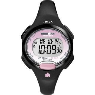 Timex T5K5229J Women's Ironman Traditional 10-lap Black/ Pink Watch https://ak1.ostkcdn.com/images/products/6089791/P13759584.jpg?impolicy=medium