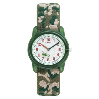 Timex T781419J Boy's Camouflage Stretch Band Watch|https://ak1.ostkcdn.com/images/products/6089807/6089807/Timex-Boys-Camouflage-Stretch-Band-Watch-P13759598.jpg?impolicy=medium
