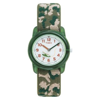 Timex T781419J Boy's Camouflage Stretch Band Watch
