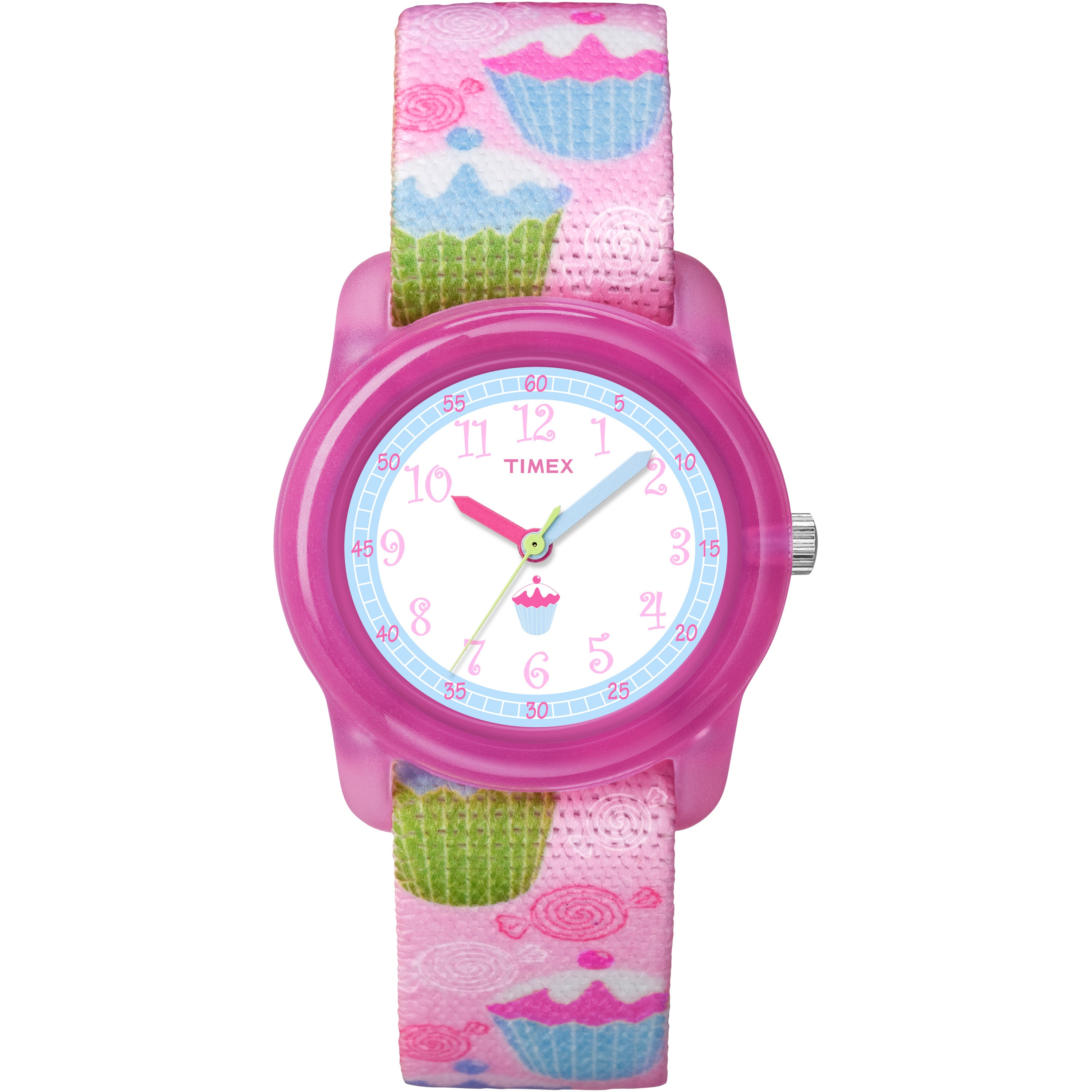 T89001 Kids Elastic Strap 16mm Timex Youth TW7B99500 /& More... Pink T89022 Orange /& Yellow Floral Design Band Fits Timex T7B151