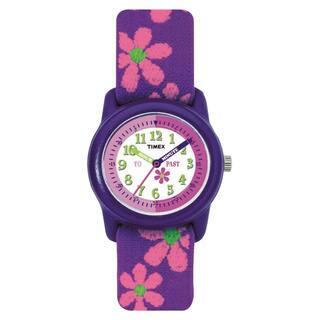 Timex Kids' T89022 Time Teacher Analog Flowers Elastic Fabric Strap Watch https://ak1.ostkcdn.com/images/products/6089816/6089816/Timex-Kids-T89022-Time-Teacher-Analog-Flowers-Elastic-Fabric-Strap-Watch-P13759606.jpg?impolicy=medium