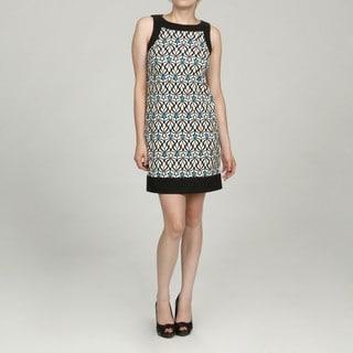 Jessica Howard Petite Blue Patterned Dress