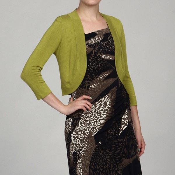 Jessica Howard Women's Petite Avocado Sweater FINAL SALE