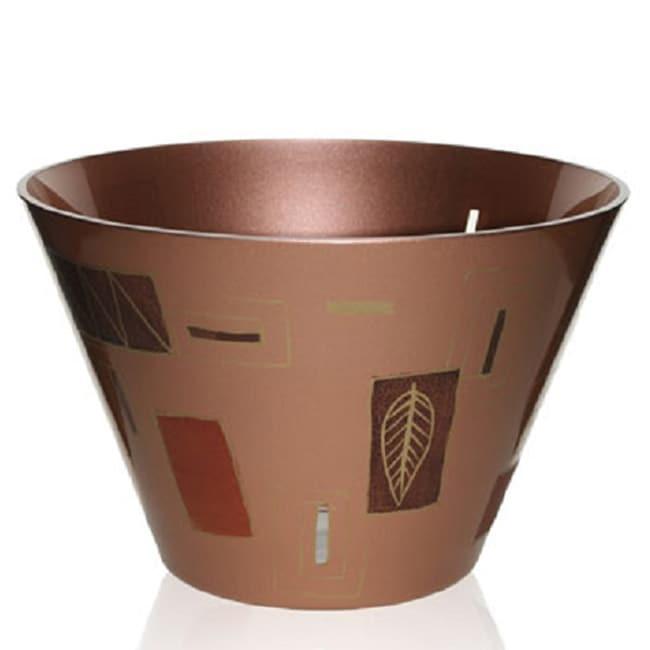 Geometrical Leaves Series Glass Bowl