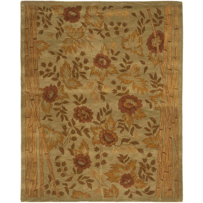 Safavieh Handmade Far East Sage Wool Rug - multi - 8' x 10'