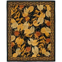 Safavieh Handmade Autumn Black Wool Rug - Assorted - 8' x 10'