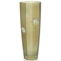 Fuzzy Dandelion Series Glass Vase