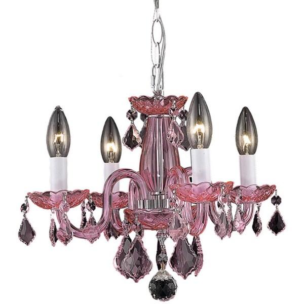 Somette Crystal 62265 4-light Chandelier