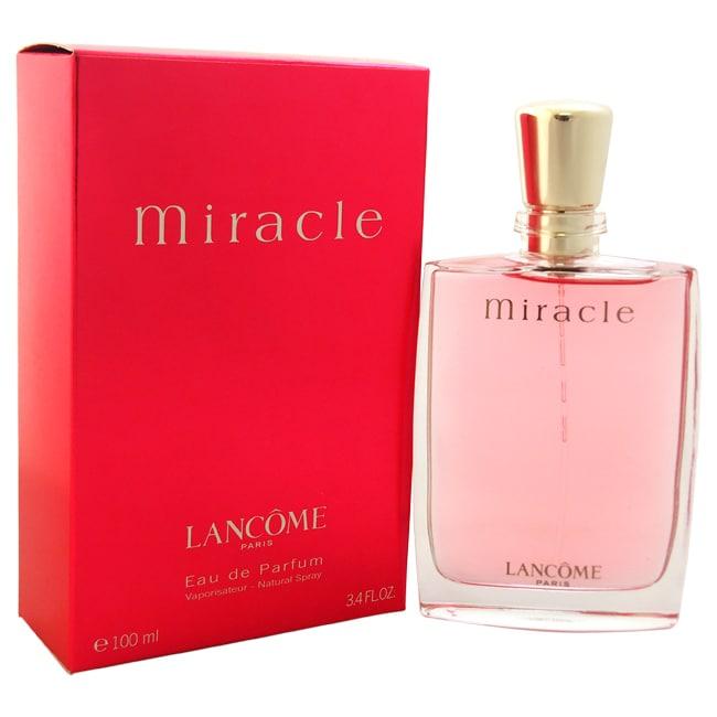 Lancome Miracle Women's 3.4-ounce Eau de Parfum Spray (Te...