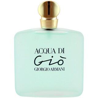 Giorgio Armani Acqua Di Gio Women's 3.4-ounce Eau de Toilette Spray (Tester)