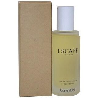 Calvin Klein Escape Men's 3.4-ounce Eau de Toilette Spray (Tester)
