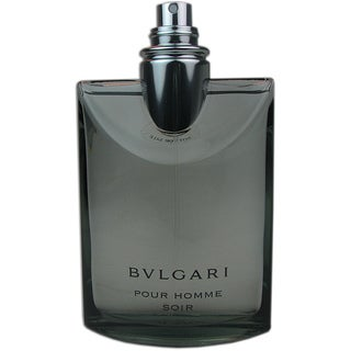 Bvlgari Soir Men's 3.4-ounce Eau de Toilette Spray (Tester)