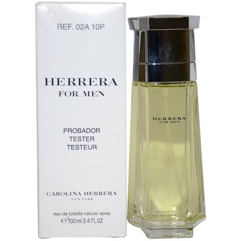 Carolina Herrera Men's 3.4-ounce Eau de Toilette Spray (Tester)