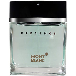 Presence Men's by Mont Blanc 2.5-ounce Eau de Toilette Spray (Tester)