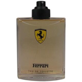 Ferrari Red Men's 4.2-ounce Eau de Toilette Spray (Tester)