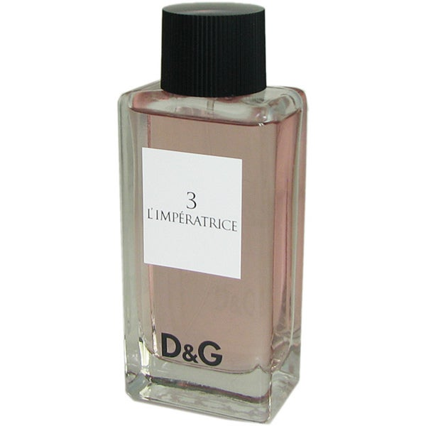 Shop Dolce   Gabbana 3 L Imperatrice 3.3-ounce Eau de Toilette Spray  (Tester) - Free Shipping On Orders Over  45 - Overstock.com - 6091160 e5713769ffa4