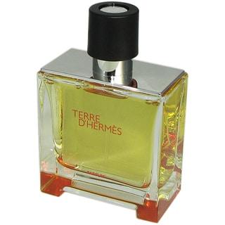 Terre D' Hermes Men's 2.5-ounce Pure Parfume Spray (Tester)