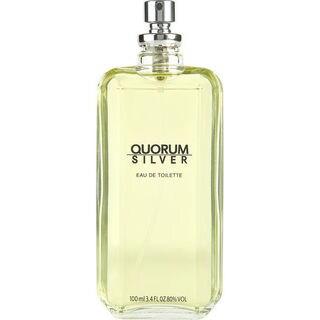 Quorum Silver by Puig 3.4-ounce Eau de Toilette Spray (Tester)