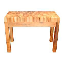Bradley Furniture Appaloosa Butcher Block Island - Thumbnail 2
