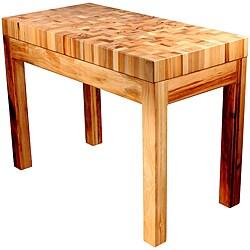 Bradley Furniture Appaloosa Butcher Block Island