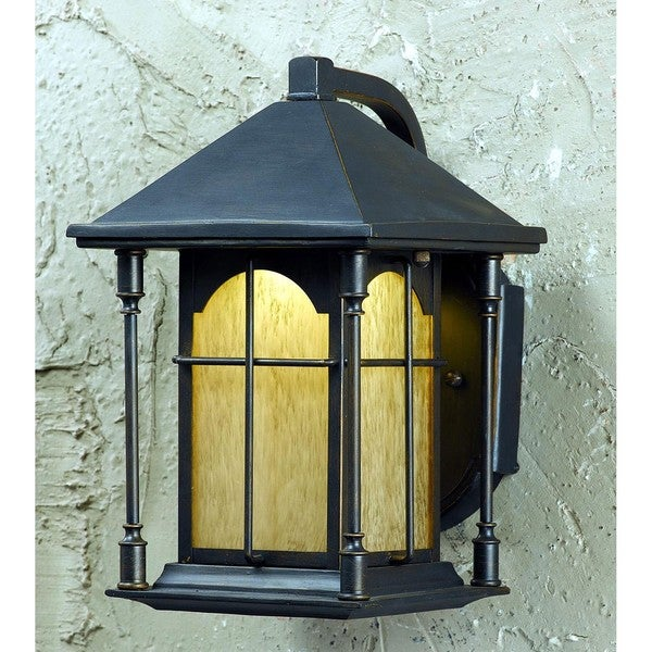 Ahoy LED Oil-Rubbed-Bronze One-Light Outdoor Wall Light