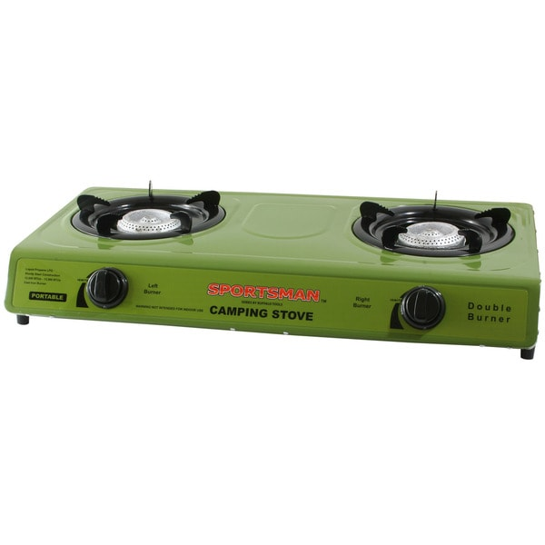 Buffalo Tools Dual-burner Gas Stove