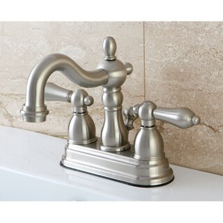 Satin Nickel English Bathroom Faucet