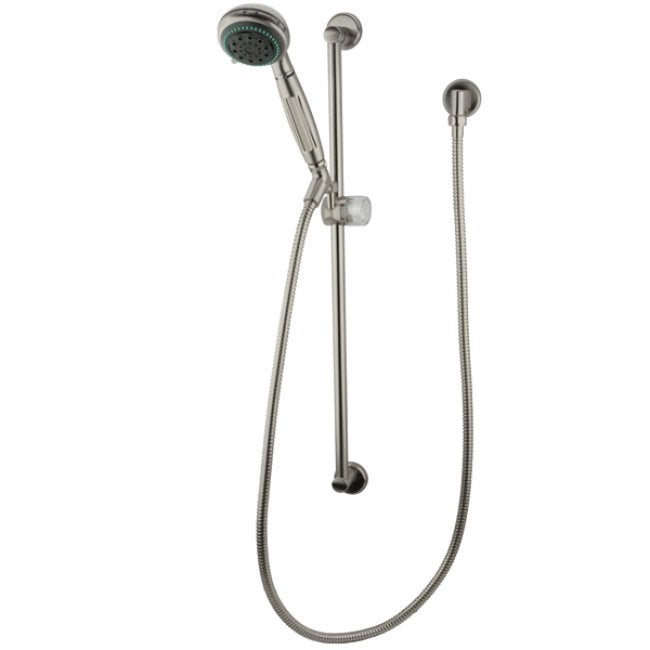 Satin Nickel Massage Hand Shower Combo