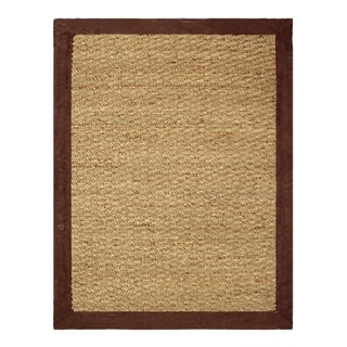 Coastal Seagrass 2 x 3 ft. Chocolate Accent Rug - 2' x 3'