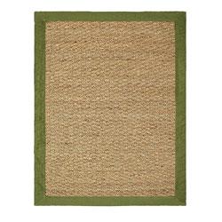 Hand-woven Coastal Seagrass Green Area Rug (3'4 x 5')