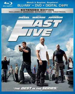 Fast Five (Extended Edition) (Blu-ray/DVD)