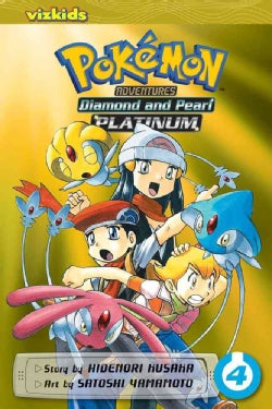 Pokemon Adventures 4: Diamond and Pearl/Platinum (Paperback)