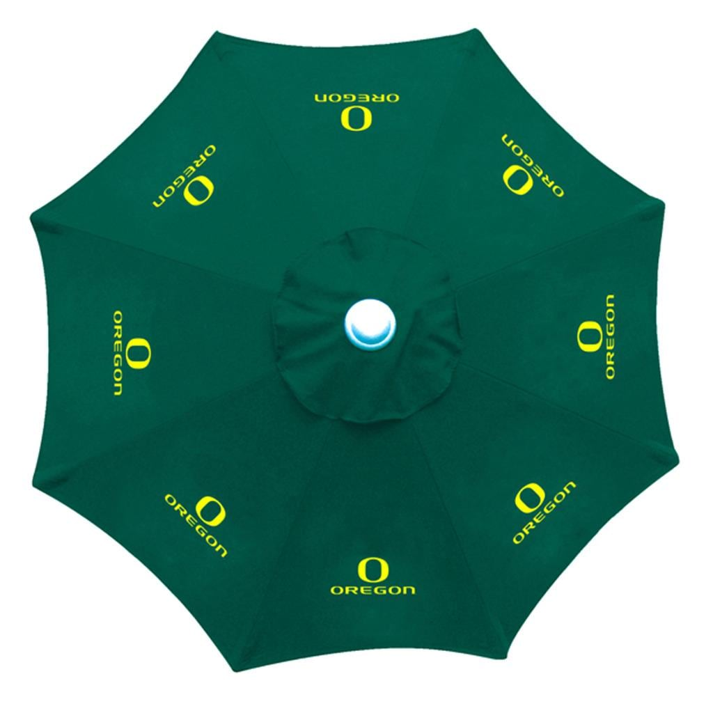 Oregon Ducks 9 Foot Patio Umbrella