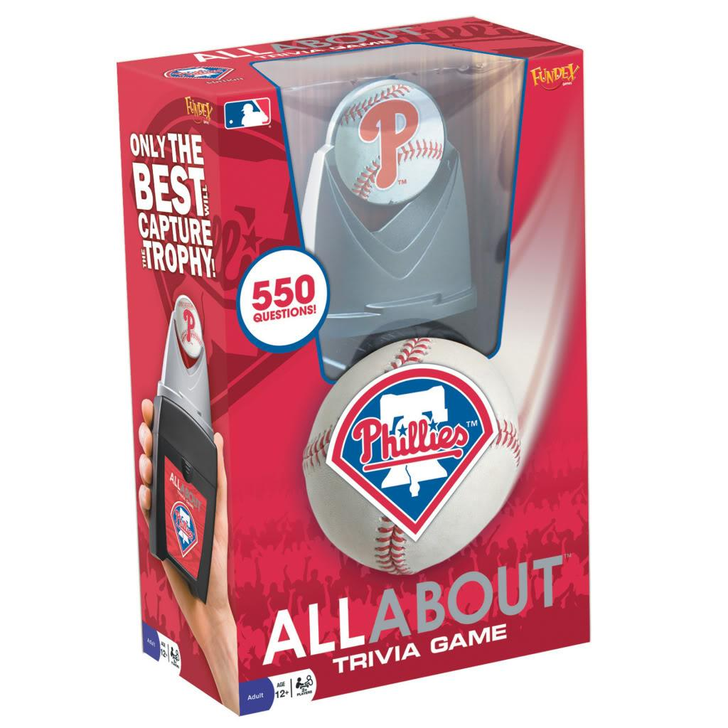 Philadelphia Phillies All About Trivia Game