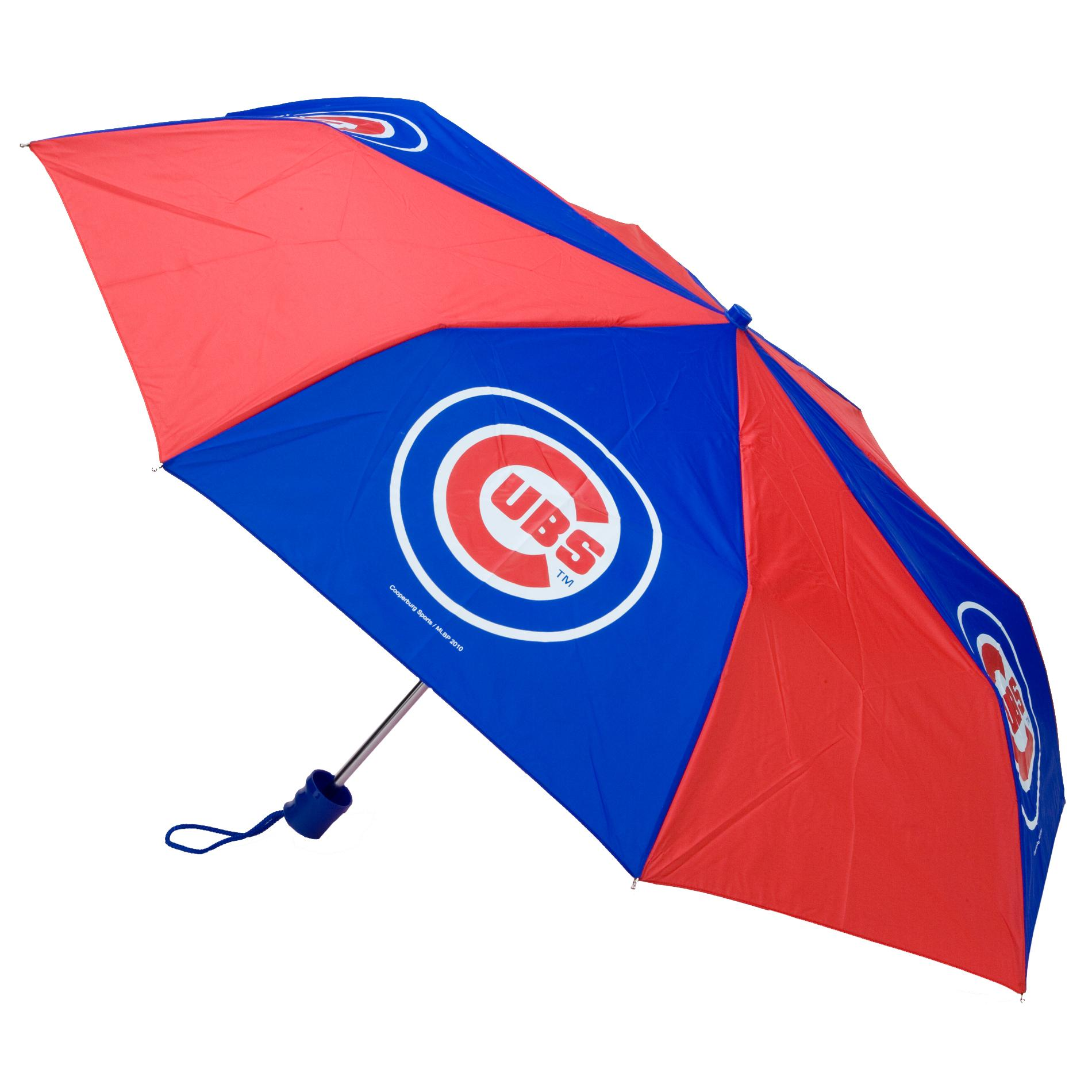 Chicago Cubs 42-inch Pocket Umbrella